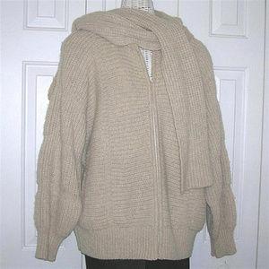 Vintage Bonnie Lee Wool Sweater Jacket Coat